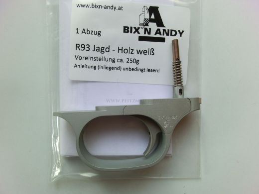 BIXN ANDY Kugelabzug/Feinabzug für Blaser R93 Modell JAGD