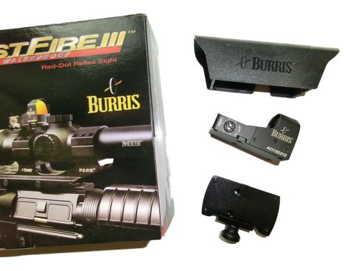 BURRIS Fast Fire III mit Picatinny Montageadapter 3MOA /8MOA