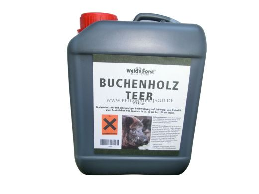 Buchenholzteer 2,5l