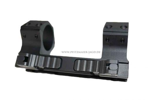 INNOMOUNT TACTICAL PICATINNY Schnellspannmontage - Blockmontage, 30mm Ringe, ohne Vorneigung