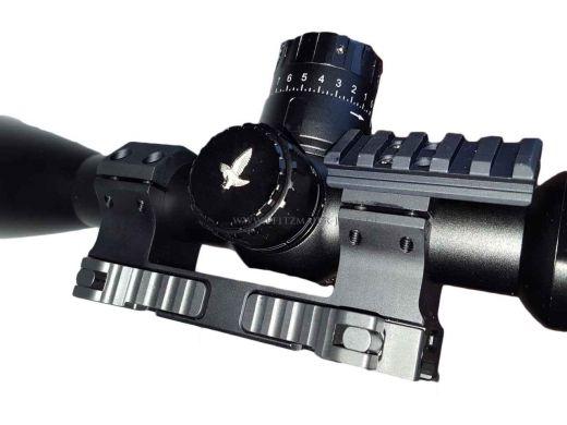 INNOMOUNT TACTICAL PICATINNY Schnellspannmontage - Blockmontage, 30mm Ringe, 20MOA Vorneigung