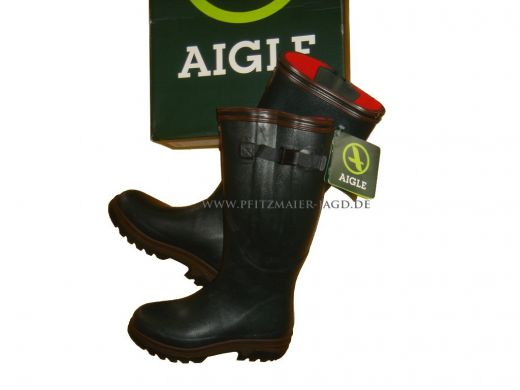 AIGLE Gummistiefel Iso Parcours 2 grün