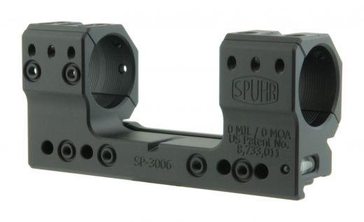 SPUHR ISMS PICATINNY Festmontage/Blockmontage, 30mm Ringe, ohne Vorneigung