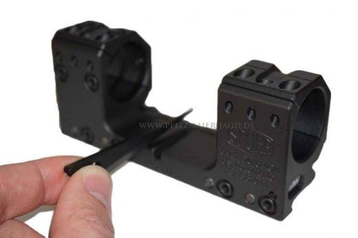 SPUHR ISMS PICATINNY Festmontage/Blockmontage, 34mm Ringe, ohne Vorneigung