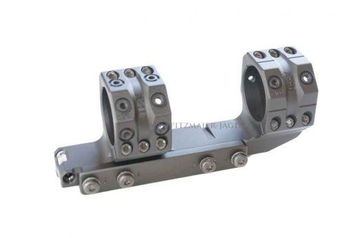 SPUHR ISMS PICATINNY Festmontage mit Verlängerung, 34mm Ringe, ohne Vorneigung