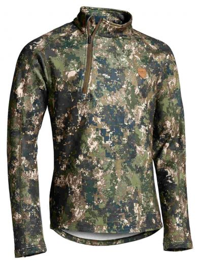 NORTHERN HUNTING Fleecejacke SVART Herren