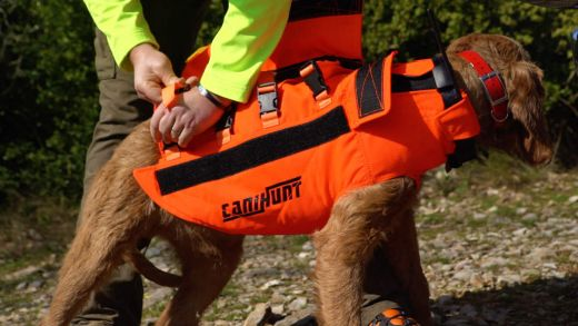 CANIHUNT Hundeschutzweste PROTECT DOG ARMOR V2