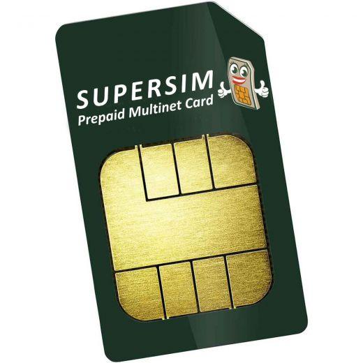 SEISSIGER SuperSim Prepaid Multinet-Karte