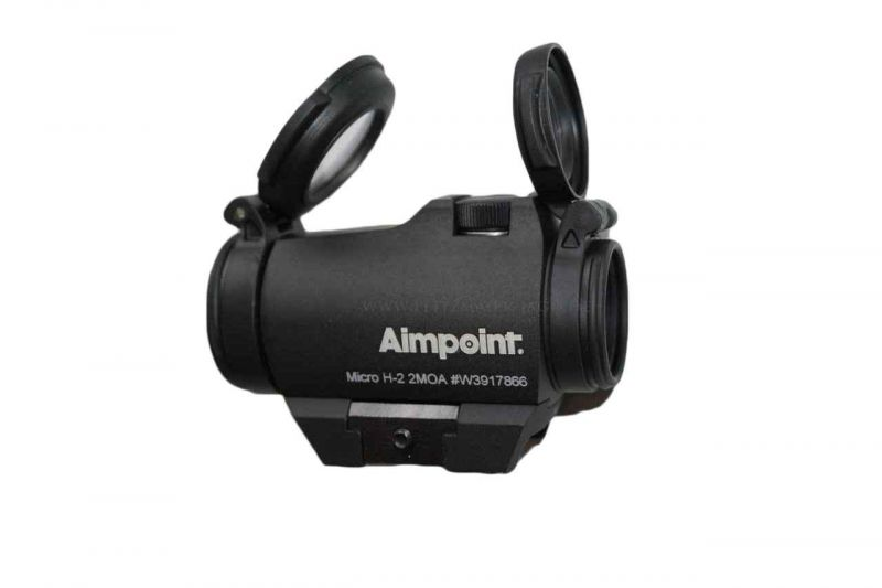 Aimpoint micro h mit picatinny weaver montage