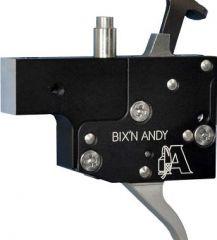 BIXN ANDY Kugelabzug/Feinabzug für Sako S491 / M591 / L579/ Tikka Master-Series mit Sicherung und VS