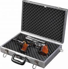 EISELE ALU-Kurzwaffenkoffer Pistol D für zwei Kurzwaffen