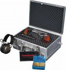 EISELE ALU-Kurzwaffenkoffer Pistol D/D für 2 bis 6 Kurzwaffen