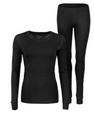 ANAR Damen Merinowolle-Unterbekleidung GARRA schwarz