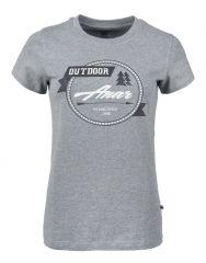 ANAR Damen T-Shirt BAIDI grau
