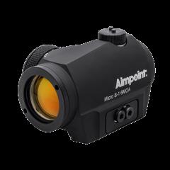 AIMPOINT Leuchtpunktvisier Micro S1 6MOA incl. Adapter f. ventil. Laufschienen