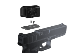 AIMPOINT Leuchtpunktvisier ACRO C1 3,5MOA incl. Adapter f. Acro-Interface